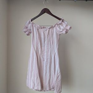 Nasty Gal Dresses - Striped Mini Dress